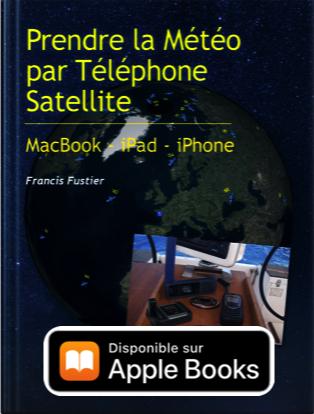 Prendre la météo par téléphone satellite
