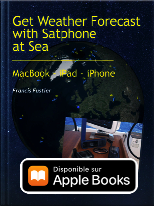Get weather forecast with satphone at sea